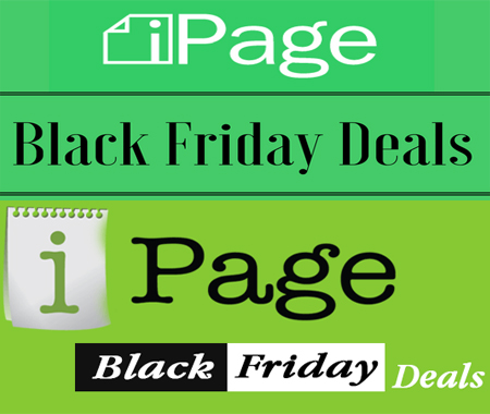 ipage black friday deal, ipage black friday discount